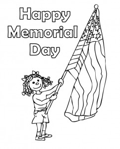 Coloring Pages For Memorial Day