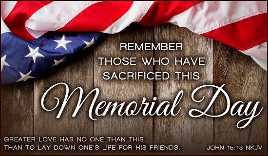 Happy Memorial Day Quotes And Sayings To Thank You Phrases 2018