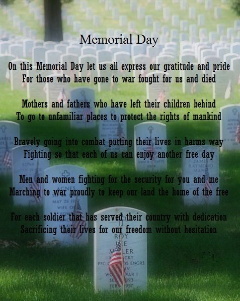 Memorial Day Speeches