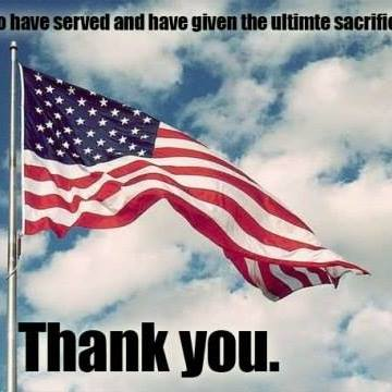 Memorial Day Thank You Quotes Sayings Messages Images 2018