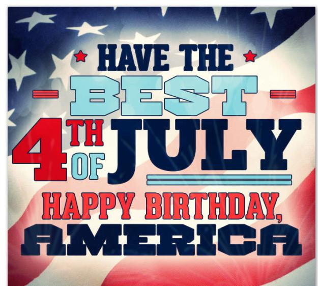 Happy 4th Of July Birthday