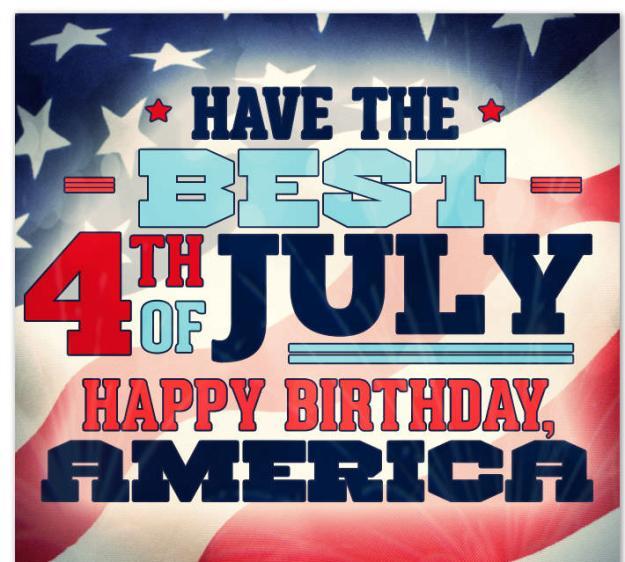 Happy 4th Of July Birthday