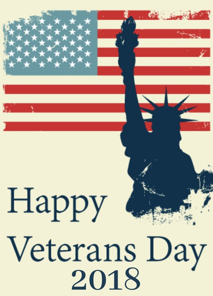 Happy Veterans Day 2018