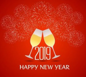 Happy New Year 2019 Facebook Profile Picture