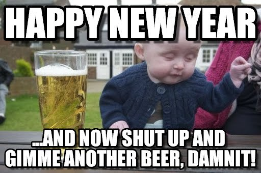 Happy New Year Memes 2018