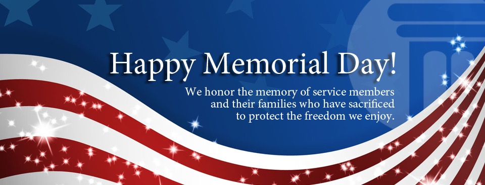 Memorial Day Greetings