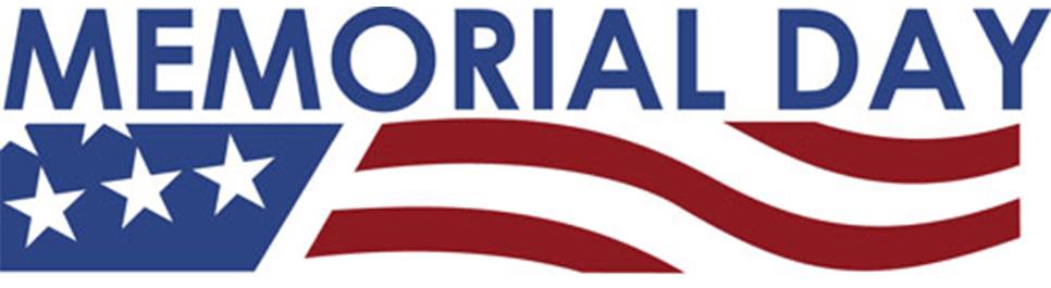 Memorial Day Banner Clipart