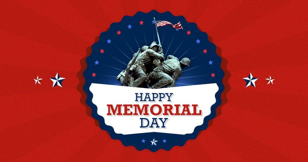 Memorial Day Desktop Banner